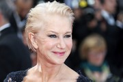 Helen Mirren went punk with this slicked-back 'do for the Cannes premiere of 'The Unknown Girl.'