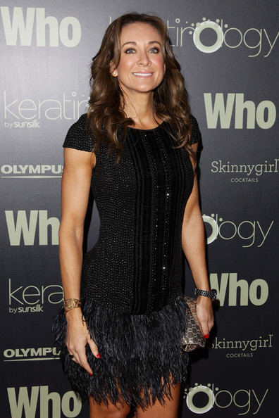 More Pics of Michelle Bridges Metallic Clutch (1 of 3) - Michelle Bridges Lookbook - StyleBistro