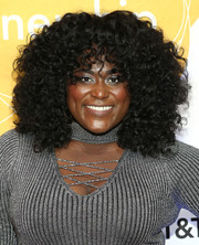 Danielle Brooks wore her hair in a cool afro at the 2018 AmplifiED Gala.