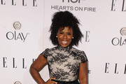 Uzo Aduba Cocktail Dress