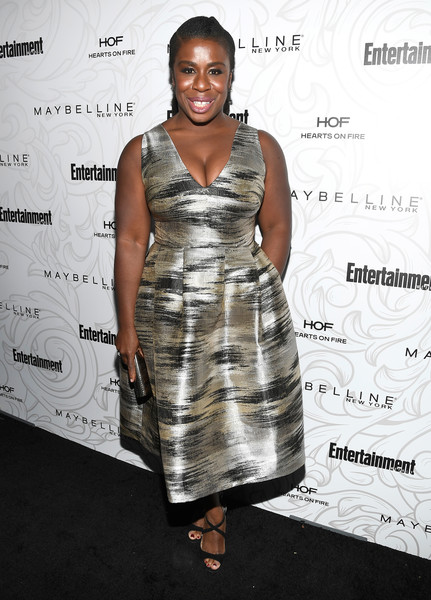 Uzo Aduba Strappy Sandals