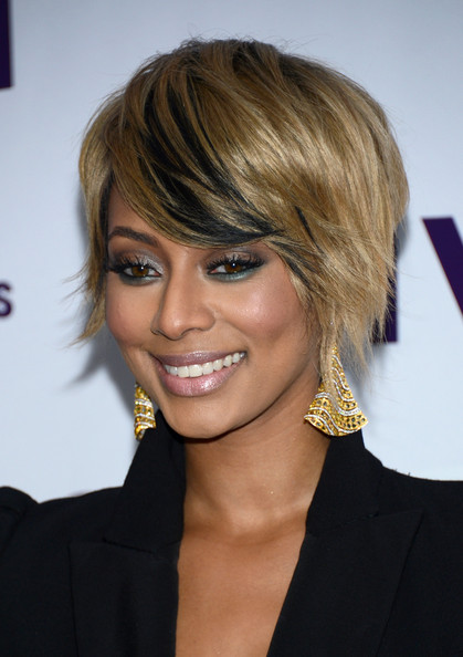 More Pics of Keri Hilson Short Side Part (5 of 20) - Short Hairstyles Lookbook - StyleBistro
