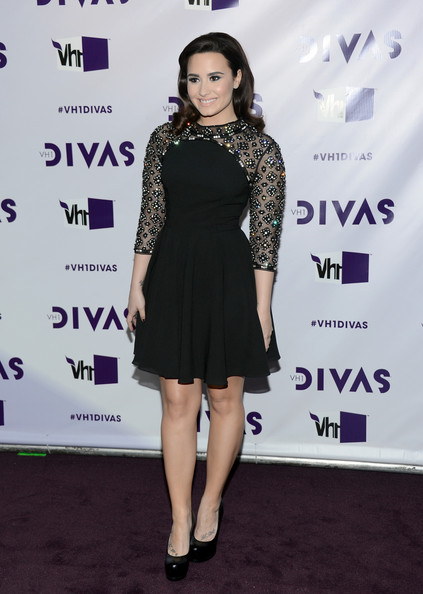 More Pics of Demi Lovato Little Black Dress (1 of 23) - Demi Lovato Lookbook - StyleBistro