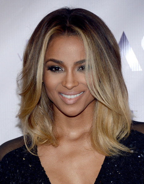 Ciara's Honey-Blond Highlights