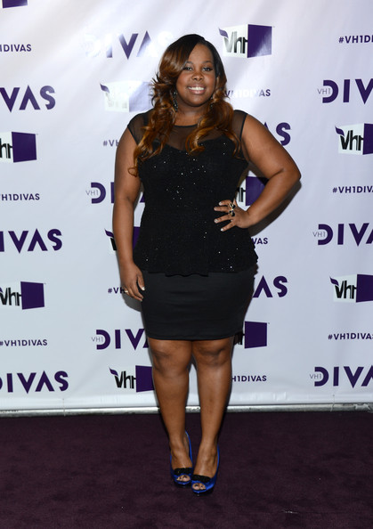 Amber Riley at VH1 Divas 2012