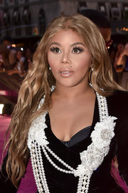 Lil Kim rocked mermaid waves at the VH1 Hip Hop Honors.