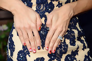 Valery M. Ortiz rocked some major nail art at the VH1 'Hit the Floor' screening.