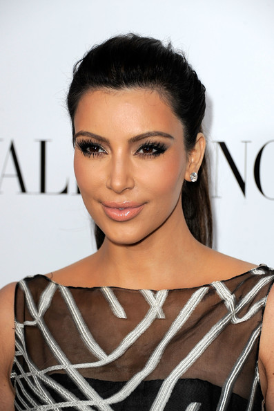 More Pics of Kim Kardashian False Eyelashes (5 of 23) - Kim Kardashian Lookbook - StyleBistro