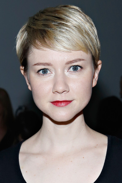 Valorie Curry Pixie [hair,face,hairstyle,eyebrow,lip,chin,blond,beauty,forehead,head,valorie curry,giulietta,giulietta - front row,new york city,pier 59,mercedes-benz fashion week,fashion show]