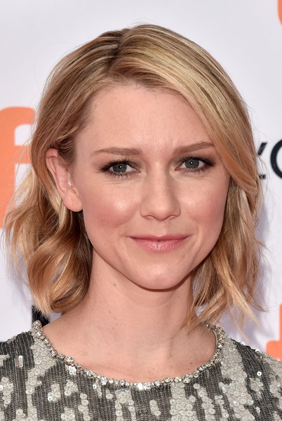 Valorie Curry Short Wavy Cut [american pastoral,hair,face,hairstyle,blond,eyebrow,chin,lip,layered hair,shoulder,long hair,valorie curry,toronto,canada,princess of wales theatre,toronto international film festival,premiere,american pastoral premiere]