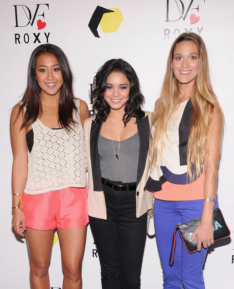 Celebs at the 'DVF Loves Roxy' Launch