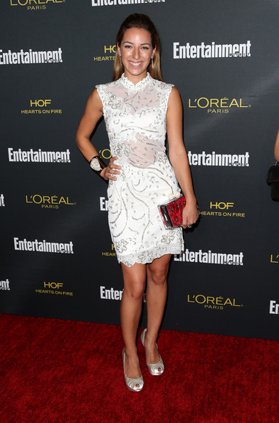 Vanessa Lengies Peep Toe Pumps