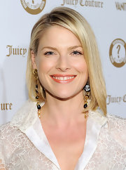 Ali Larter wore her hair in a sleek bob at the 'Vanity Fair' and Juicy Couture Vanities 20th Anniversary Party.