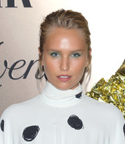 Sailor Lee Brinkley Cook wore her hair in a messy updo at the Vanity Fair 2019 Best Dressed List event.
