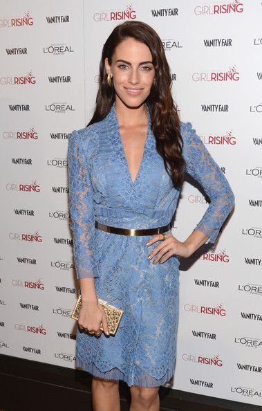 More Pics of Jessica Lowndes Long Wavy Cut (1 of 10) - Long Wavy Cut Lookbook - StyleBistro