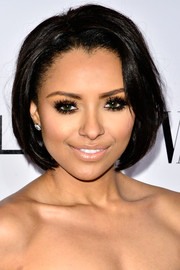 Those false eyelashes did a really good job of making Kat Graham's peepers pop.