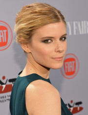 Kate Mara pulled her locks back into a side-parted bobby-pinned updo for the Young Hollywood celebration.