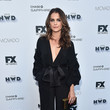 Keri Russell in Johanna Ortiz at Vanity Fair and FX's Annual Primetime Emmy Nominations Party