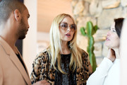 Rachel Zoe accessorized with a pair of oversized round sunnies at the launch of Proenza Schouler's Arizona fragrance.
