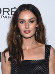 Nicole Trunfio attended the Toast to Young Hollywood event wearing her hair in casual-glam waves.