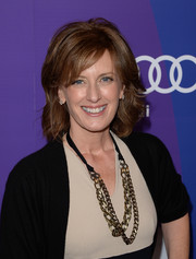 Anne Sweeney kept it classic with this bouffant when she attended the Variety Power of Women event.