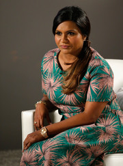 Mindy Kaling rocked a luxurious gold quartz watch at the Variety Studio Actors on Actors event.
