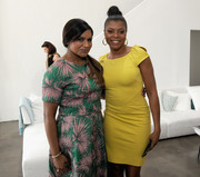 Mindy Kaling sported a spiked gold bracelet at the Variety Studio Actors on Actors event.