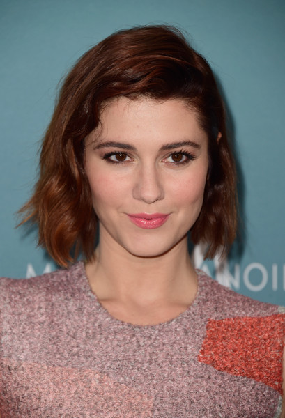 Mary Elizabeth Winstead looked demure with her subtly wavy bob at Variety's Power of Women luncheon.
