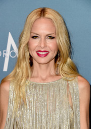 Rachel Zoe sported her usual boho hairstyle when she attended Variety's Power of Women luncheon.