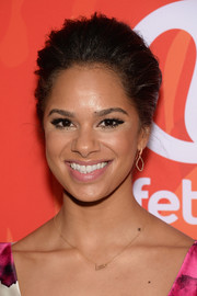 Misty Copeland was elegantly coiffed with this teased bun when she attended Variety's Power of Women event.