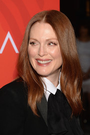 Julianne Moore topped off her look with a subtly wavy 'do when she attended Variety's Power of Women event.