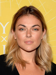 Serinda Swan rocked edgy ombre tresses at the Variety Power of Women event.