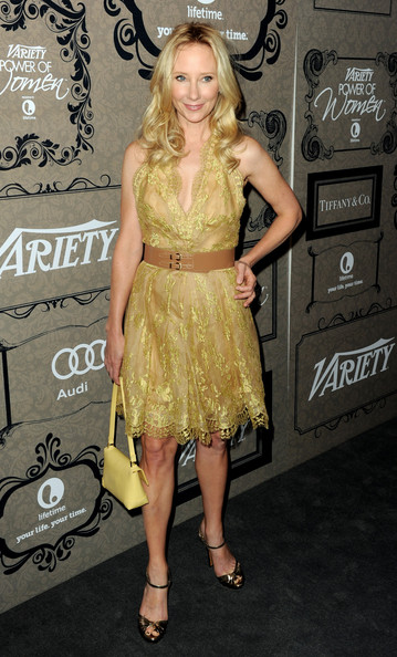 More Pics of Anne Heche Cocktail Dress (4 of 4) - Anne Heche Lookbook - StyleBistro
