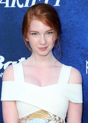 Annalise Basso attended Variety's Power of Young Hollywood event wearing her hair in a loose updo.