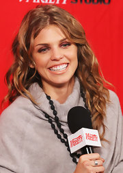 AnnaLynne McCord attended the 2012 Sundance Film Festival wearing her hair in bouncy loose waves.
