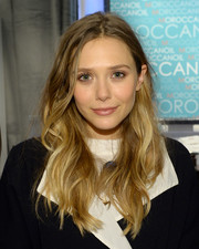 Elizabeth Olsen rocked a mussed-up wavy 'do when she visited the Variety Studio.