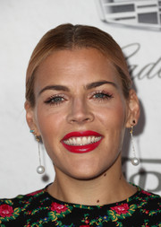 Busy Philipps kept it simple with this center-parted ponytail at the Variety and Women in Film pre-Emmy celebration.
