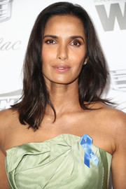 Padma Lakshmi kept it simple with this shoulder-length 'do at the Variety and Women in Film pre-Emmy celebration.