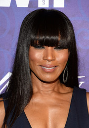 Angela Bassett sported sleek straight tresses with blunt bangs at the Variety and Women in Film Emmy nominee celebration.