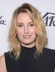 Laura Carmichael rocked messy waves at the Variety and Women in Film pre-Emmy celebration.