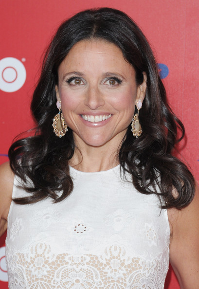 More Pics of Julia Louis-Dreyfus Long Curls (4 of 13) - Long Curls Lookbook - StyleBistro