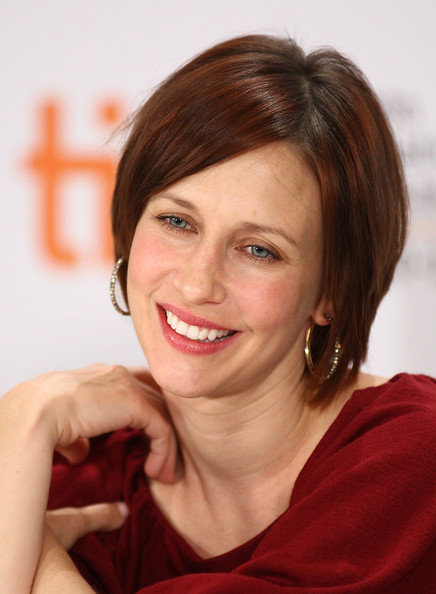 Vera Farmiga Side Parted Straight Cut [the vintners luck,hair,face,hairstyle,eyebrow,chin,lip,smile,brown hair,forehead,layered hair,vera farmiga,canada,toronto,four seasons hotel,press conference,press conference]
