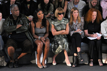 Andre Leon Talley Grace Coddington Vera Wang - Front Row - Spring 2011 MBFW