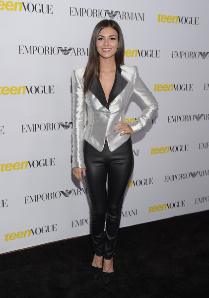 Victoria Justice leather - Leather Celebrities