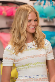 Erin Heatherton had us totally envious of her surfer-cool blonde waves.