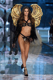 Izabel Goulart walks in the Victoria's Secret Fashion Show.