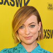 Olivia Wilde's Slicked-Down Bob