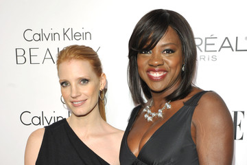 Viola Davis Jessica Chastain ELLE's 17th Annual Women In Hollywood Tribute - Red Carpet