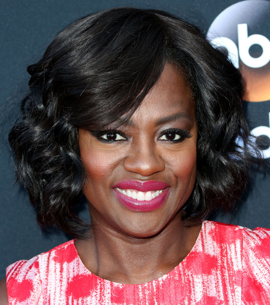 Viola Davis Curled Out Bob [how to get away with murder,hair,face,hairstyle,eyebrow,lip,black hair,chin,forehead,human,cheek,viola davis,screening,california,hollywood,sunset gower studios,atas event]