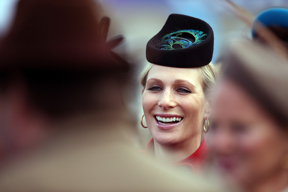 More Pics of Zara Phillips Decorative Hat (1 of 4) - Zara Phillips Lookbook - StyleBistro